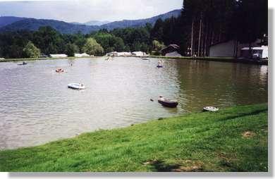 Etang camping La Broche