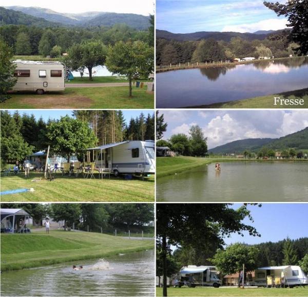Vues du Camping La Broche